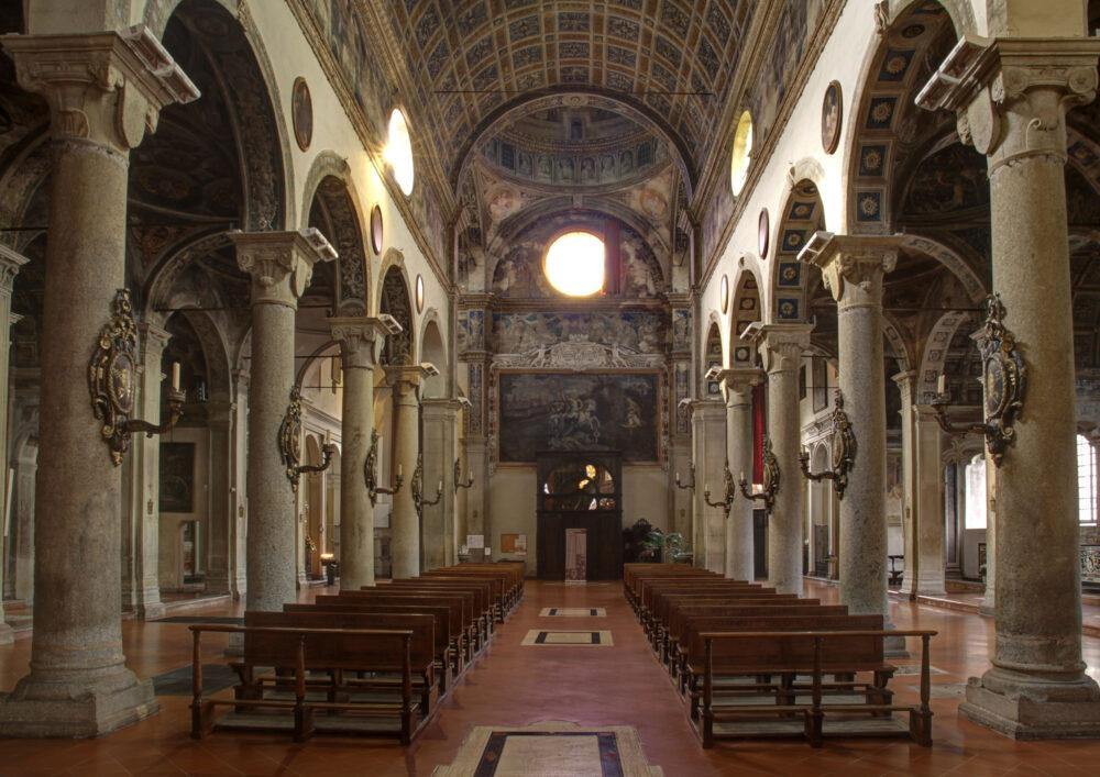 Piacenza, Chiesa di San Sisto, navata centrale