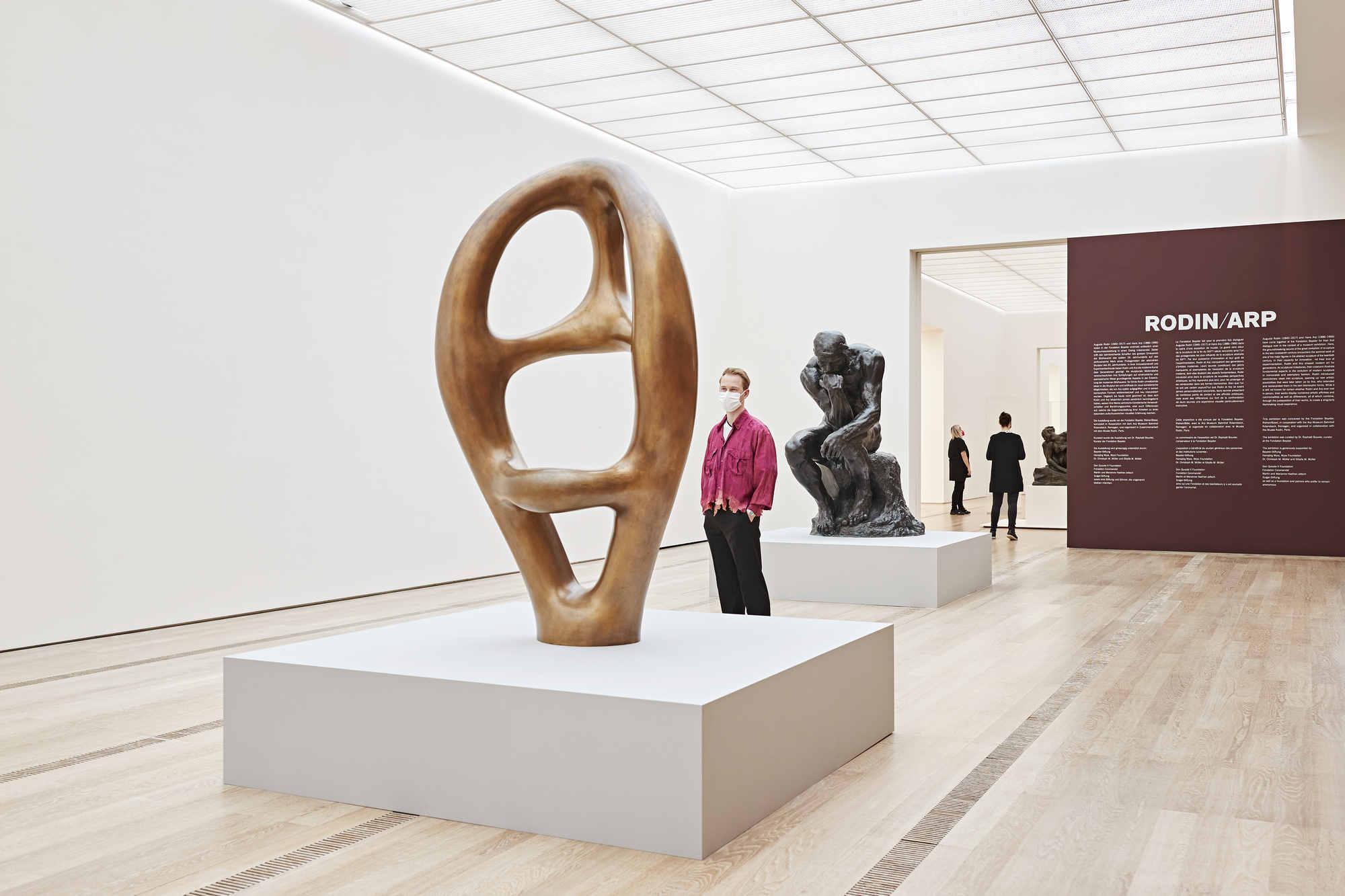 Sete di sperimentazione: le sculture di Rodin e Arp alla Fondation Beyeler