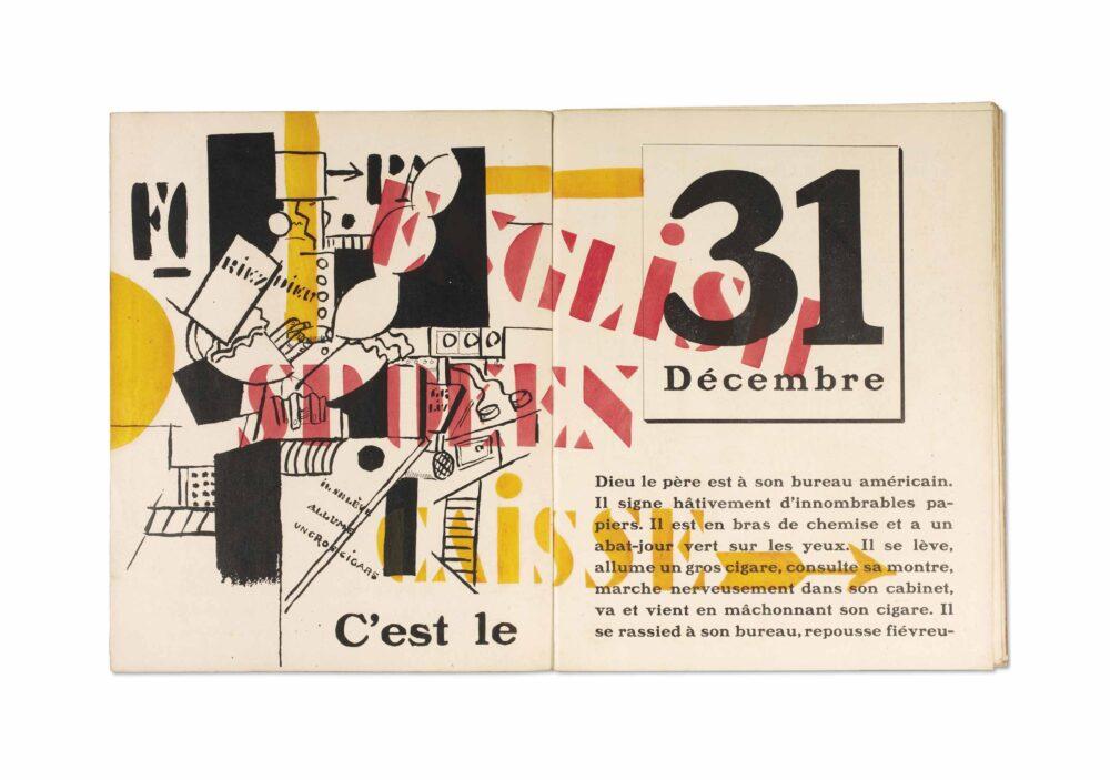 Blaise Cendrars, La Fin du monde filmée par l'Ange N. D. Roman. Illustrato da Fernand Léger