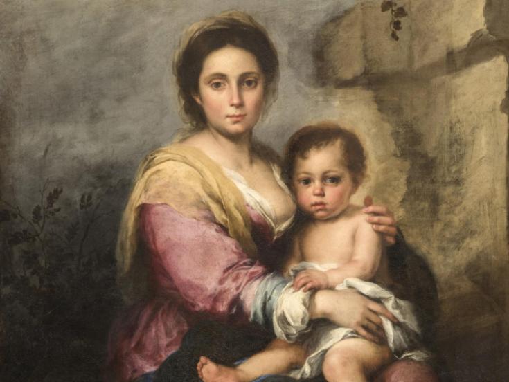 Un Santo si cela sotto la Madonna del latte di Murillo. La nuova scoperta delle Gallerie Nazionali d'Arte Antica di Roma