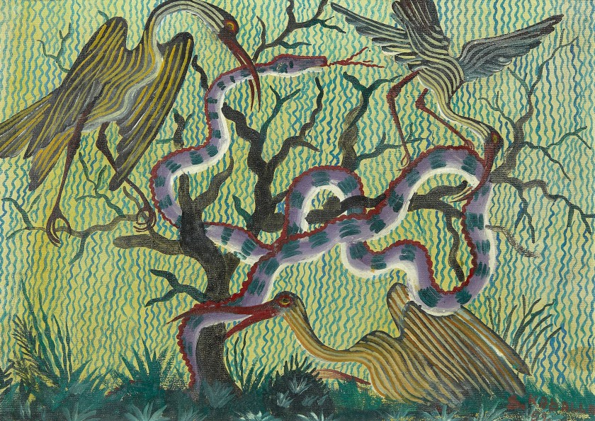 Colore e ritmo da Artcurial: in asta l'arte africana contemporanea