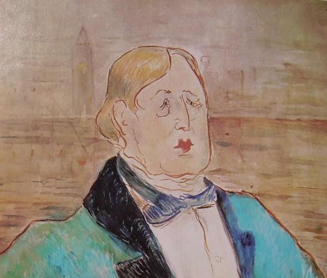 Quando Toulouse-Lautrec ritrasse Oscar Wilde