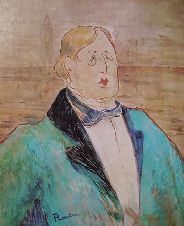 Toulouse-Lautrec, Ritratto di Oscar Wilde