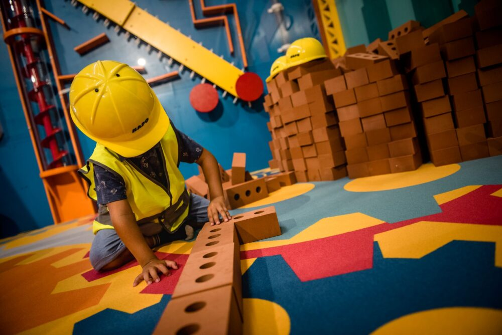 Attività nella Genius Zone del Children's Museum Verona, Courtesy of CMV, Photo by Carolina Zorzi