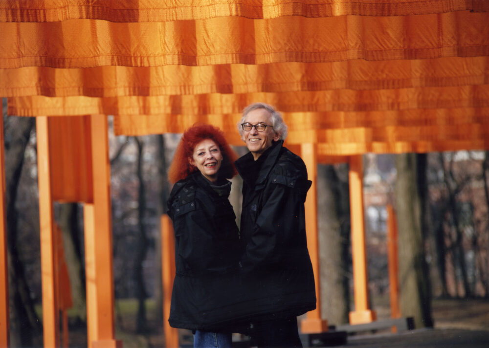 Christo and Jeanne-Claude, Gates Photo by Wolfgang Volz © The Estate of Christo V. Javacheff
