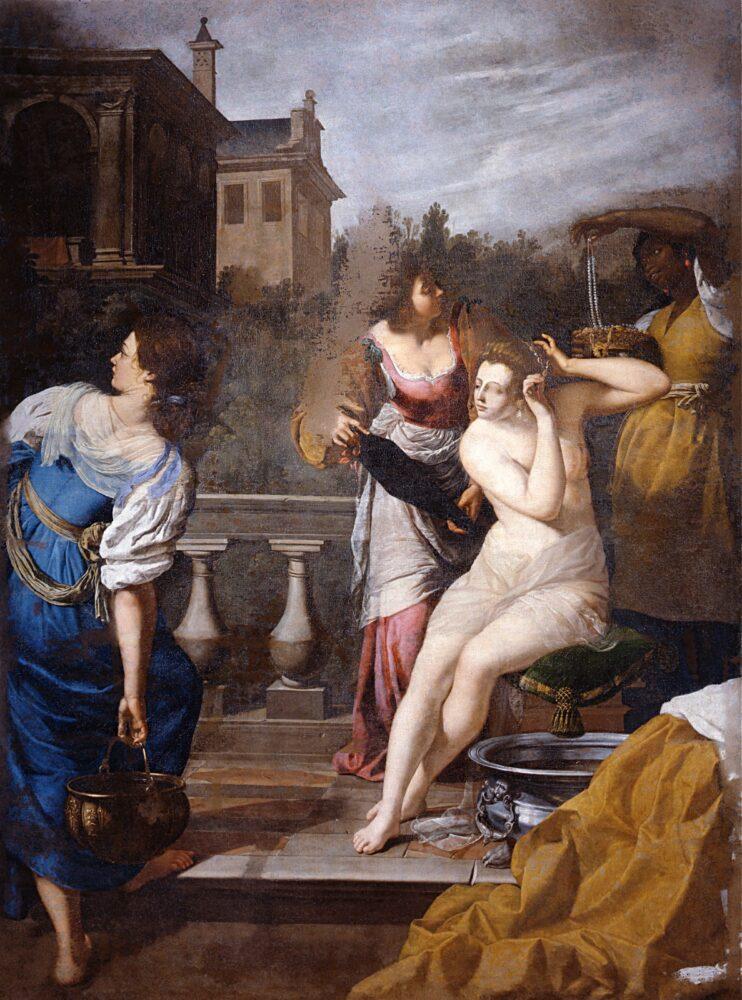 Uffizi On Being Present David e Betsabea, Artemisia Gentileschi, 1650 circa