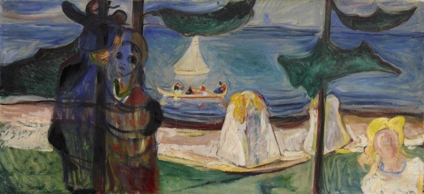"""Munch? Artista """"degenerato"""". L'intricata storia di questo dipinto in asta a Londra"""