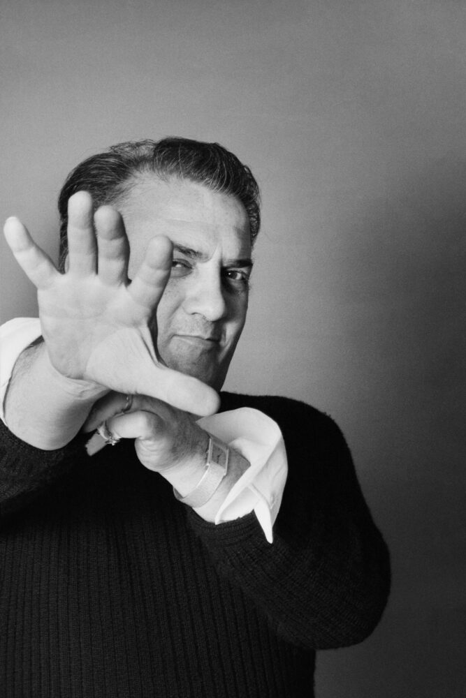 Fellini, Ritratto in Studio, 1973