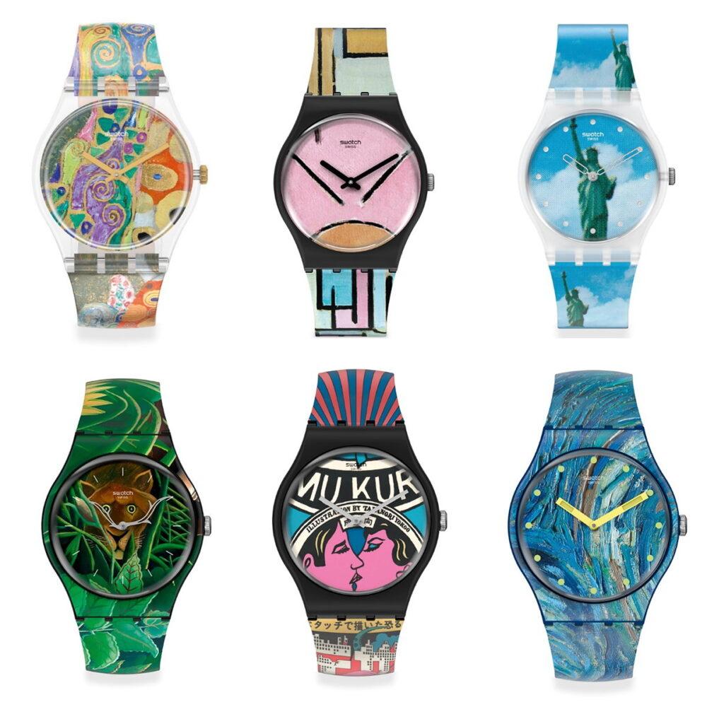 I nuovi orologi MoMA Swatch