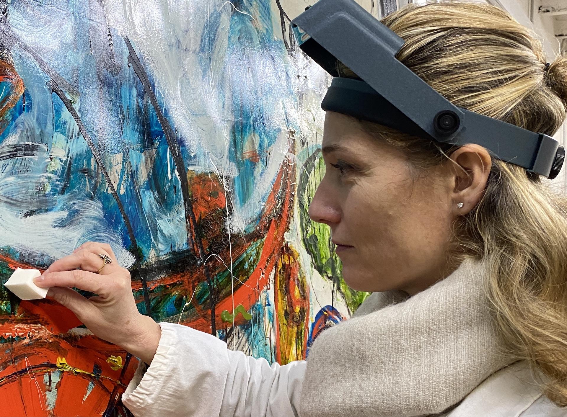 Stefania Negro: il restauro e la conservazione delle opere d'arte, anche quelle immateriali