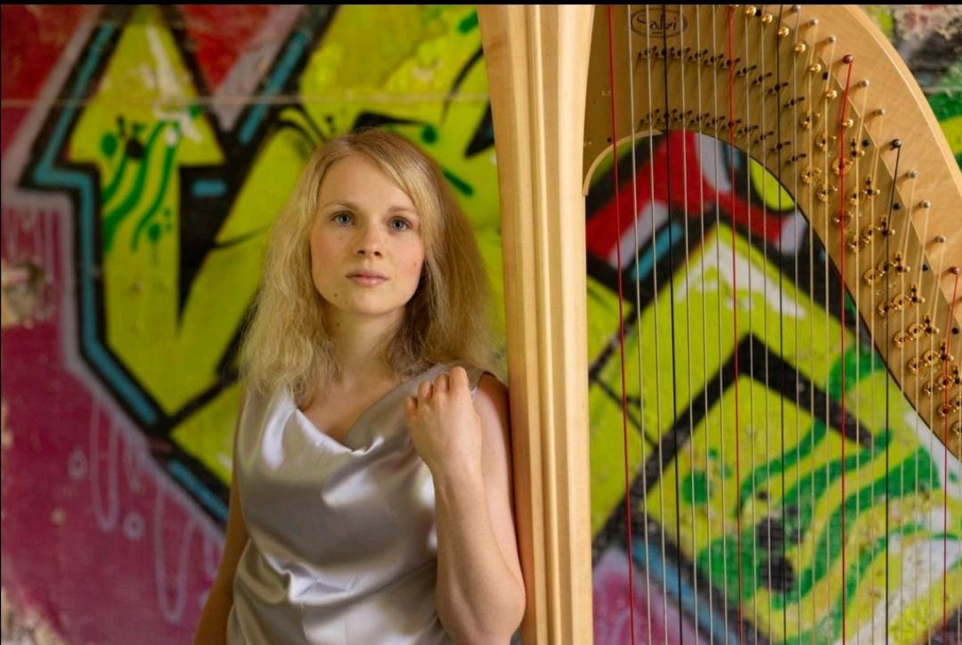 La giovane arpista Isabella Cambini (classe 2002) partecipa al Worldvision Music Contest