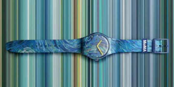 Il nuovo Swatch van Gogh