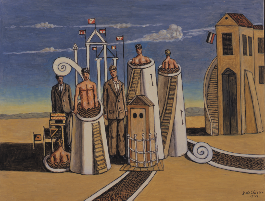 L'enigma della pittura immobile: Giorgio De Chirico a Pisa