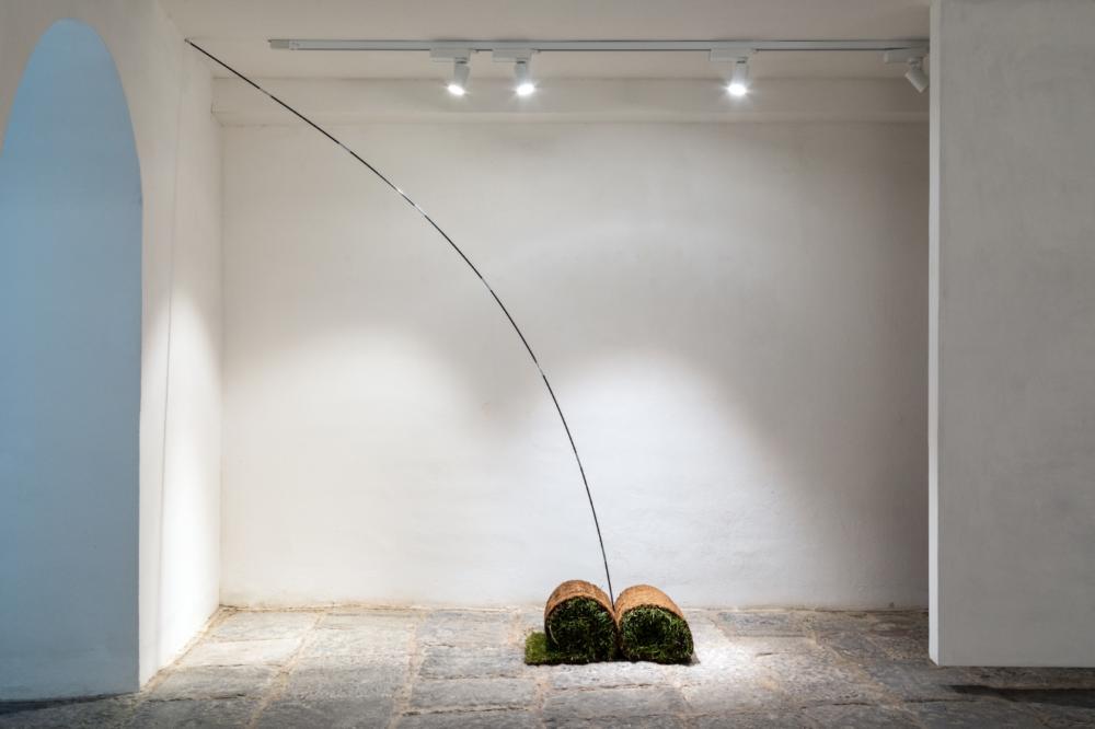 _Chiara Fantaccione_Composizione per campo base_Installation view da Primitivo_ Shazar Gallery_2018. jpg © credits Danilo Donzelli Photography_primitivo