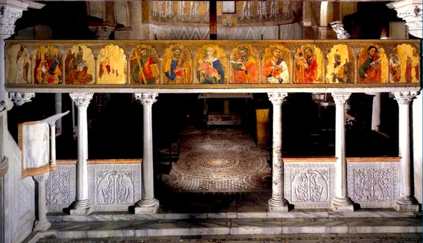 L'iconostasi della chiesa di Santa Maria Assunta a Torcello