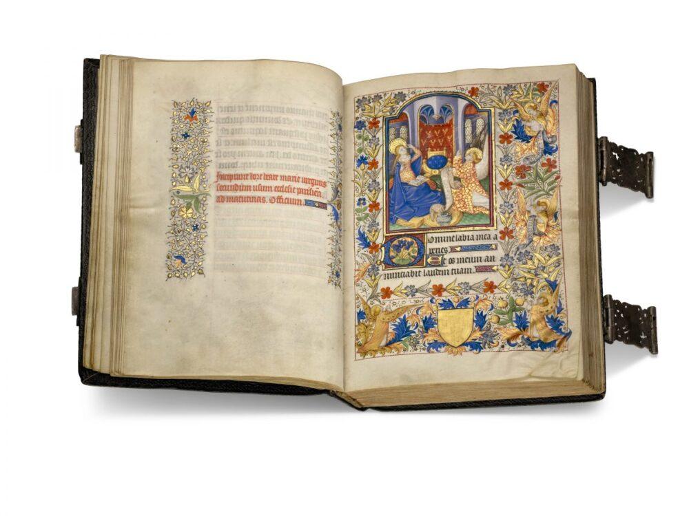 Manoscritto illustrato attribuito al Maestro del Bartholomeus Anglicus di Parigi