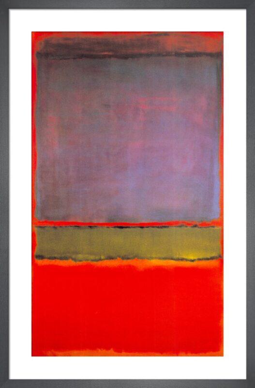 Mark Rothko No. 6 Violet Green and Red, Rai5
