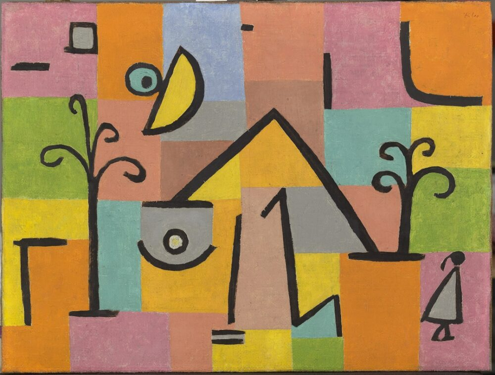 Paul Klee, Östlich Süß [Douceur d'Orient], 1938 © Department of Culture and Tourism - Abu Dhabi Photo AFP