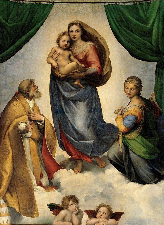 Raffaello Sanzio, Madonna Sistina