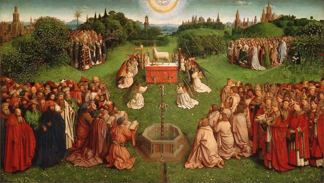 Ecco come Hubert van Eyck ha partecipato alla realizzazione del Polittico dell'Agnello Mistico