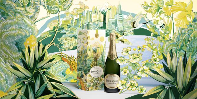 Un brindisi alla collaborazione di Christie's e Perrier-Jouët