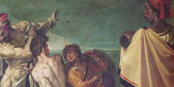 Uffizi On Being Present L'enigma di Omero, Bartolomeo Passerotti, ante 1584