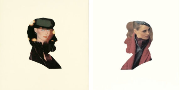 Sinistra: Sherrie Levine - Untitled (President 4), 1979 / Destra: Sherrie Levine - Untitled (President 5), 1979