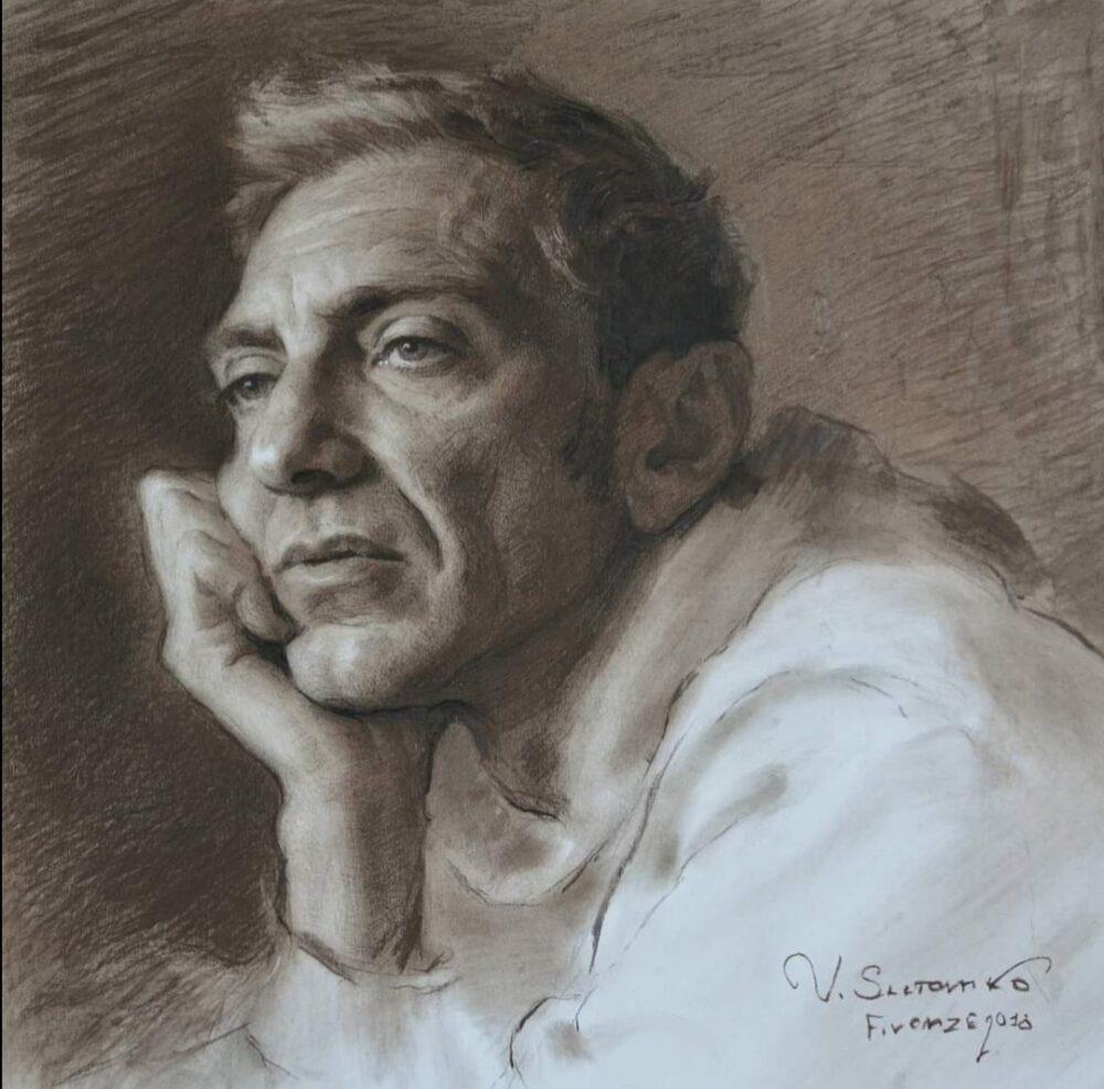 Un ritratto opera di Vitaliy Shtanko