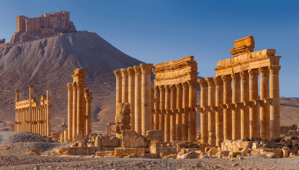 Uno scorcio di Palmira