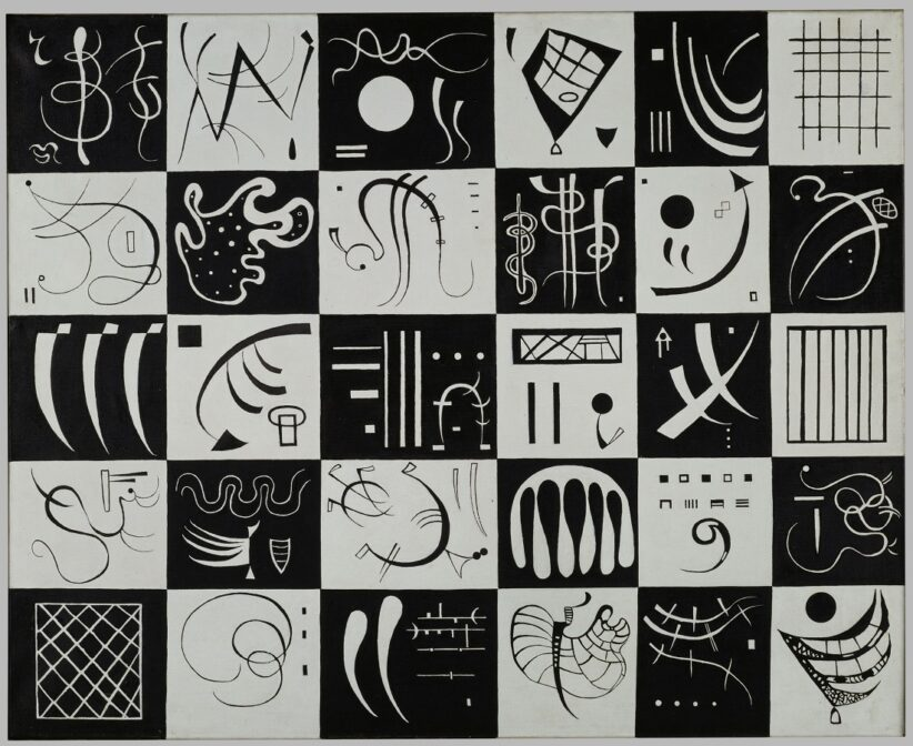 Vassily Kandinsky, Trente, 1937 Photo © Centre Pompidou, MNAM-CCI, Dist. RMN-Grand Palais Philippe Migeat