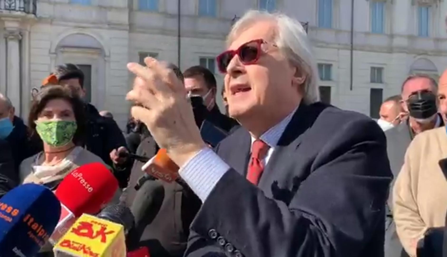 Vittorio Sgarbi: io, simbolo della cultura, sarò sindaco (o assessore) a Roma