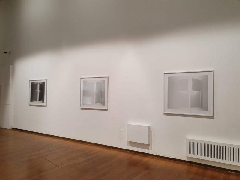 Installation view di AUTORITRATTO di Luisa Lambri. Al PAC di Milano