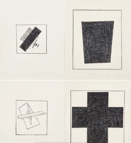 Sherrie Levine, After Malevich, 1981