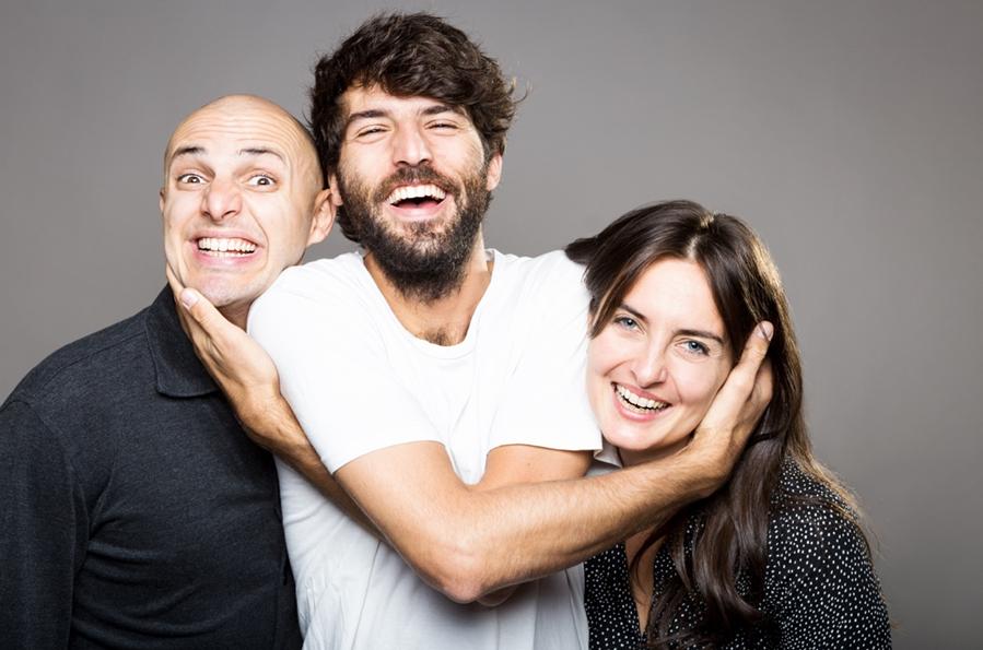 Leonardo Bianconi, Leo Merati, Giulia Quadrelli Foto ©Sara Becagli