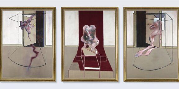 Francis Bacon, Trittico ispirato all'Orestea di Eschilo , 1981.