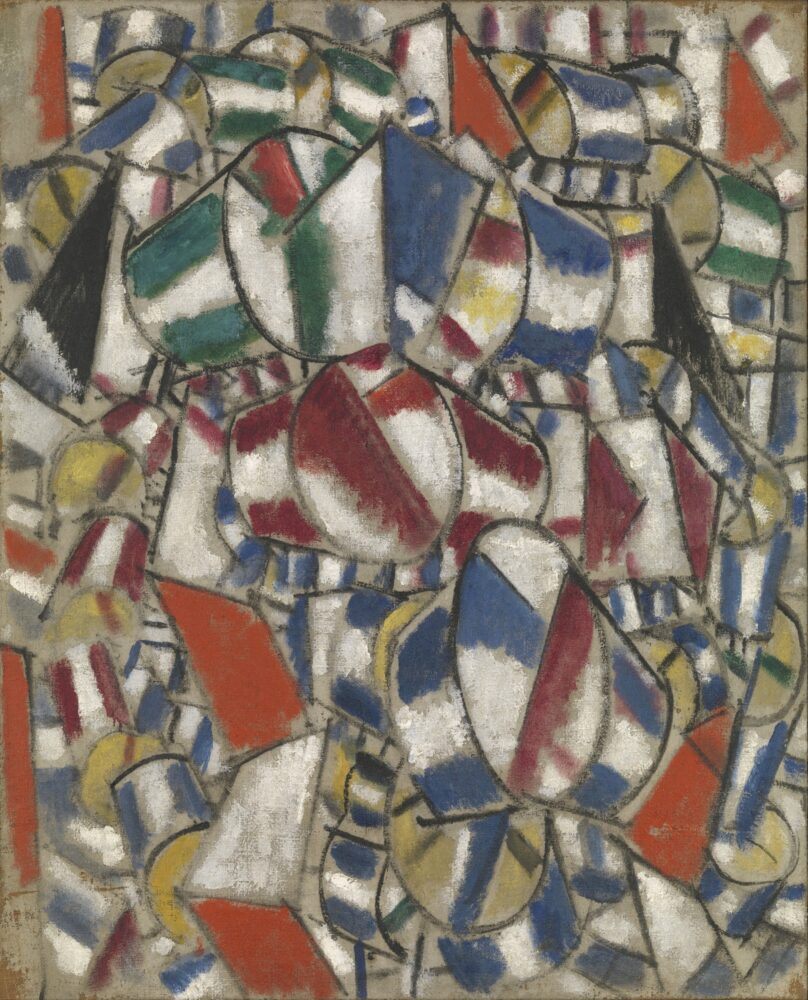 Fernand Léger Contrast of Forms 1913