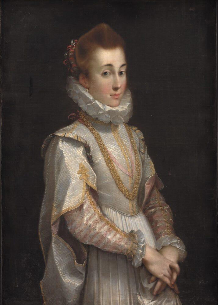 """""""Federico Barocci, Portrait of a Young Lady, c. 1600, SMK, www.smk.dk, Pubblico Dominio"""""""