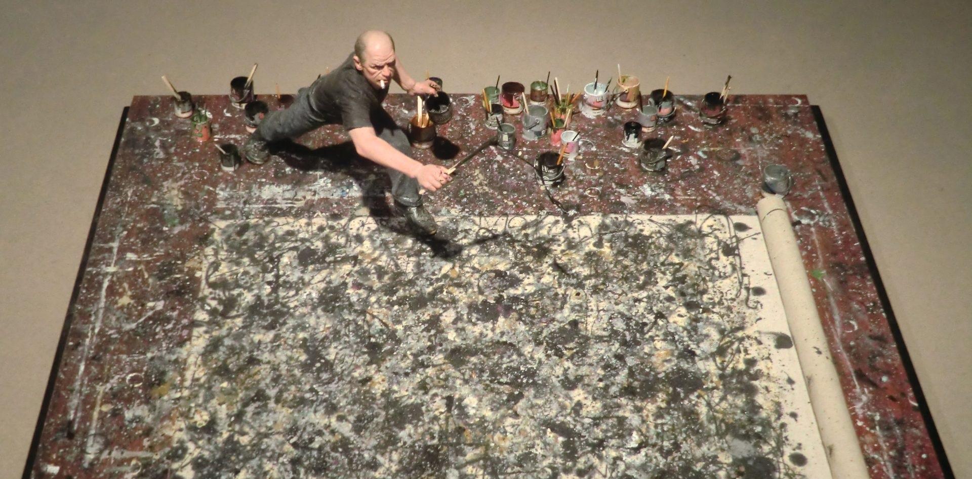 """Il dripping di Pollock, abisso dell'inconscio. """"L'arte è una scoperta del sé"""""""