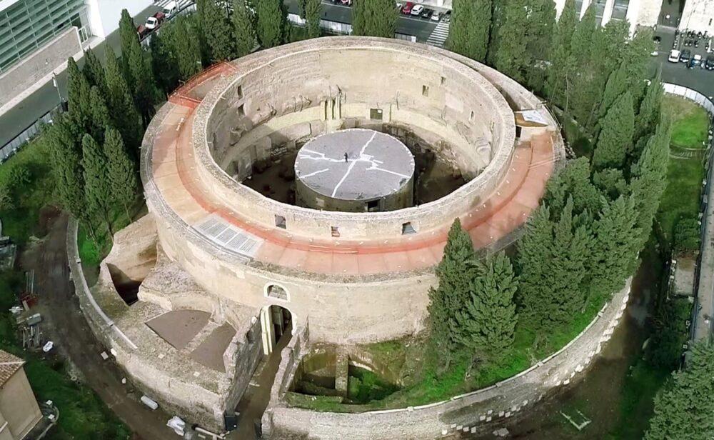 Mausoleo di Augusto Cortesy Image Sovrtintendenza Capitolina ai Beni Culturali