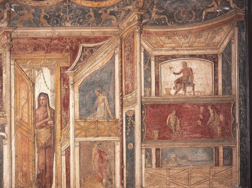 mostra pompei colosseo affresco pompeiano