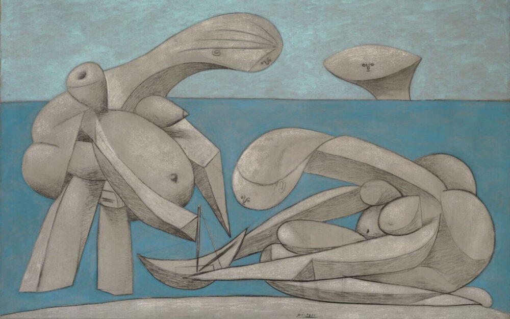 Pablo Picasso, Sulla spiaggia