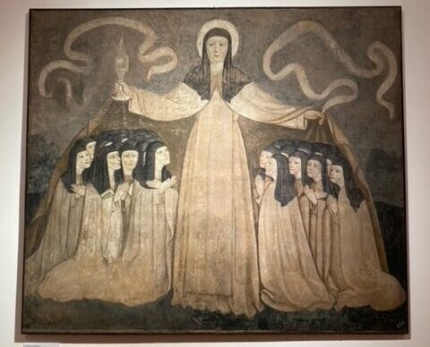 Santa Chiara con le Vergini