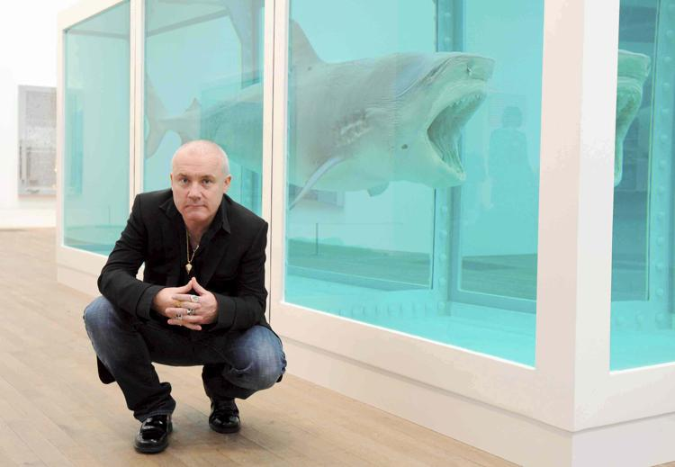 Damien Hirst curatore: per un anno organizzerà le mostre di Gagosian Londra
