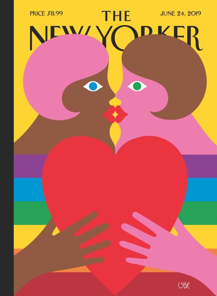 "Olimpia Zagnoli ""Hearfelt"" The New Yorker, 2019"