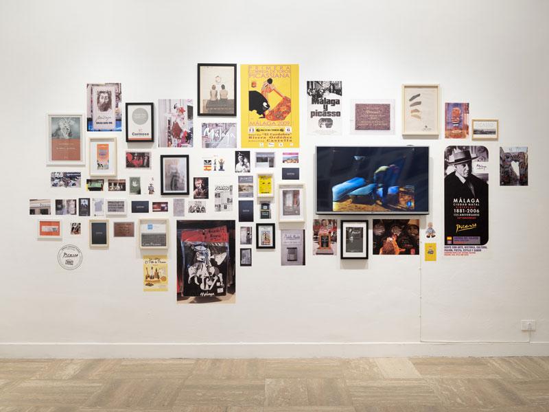 Marca Picasso, 2010 – 2020. Work in progress. Installazione multimedia. Materiali diversi, 4 canali video. Dimensioni variabili. Collezione dell'artista. Foto di Juan Baraja