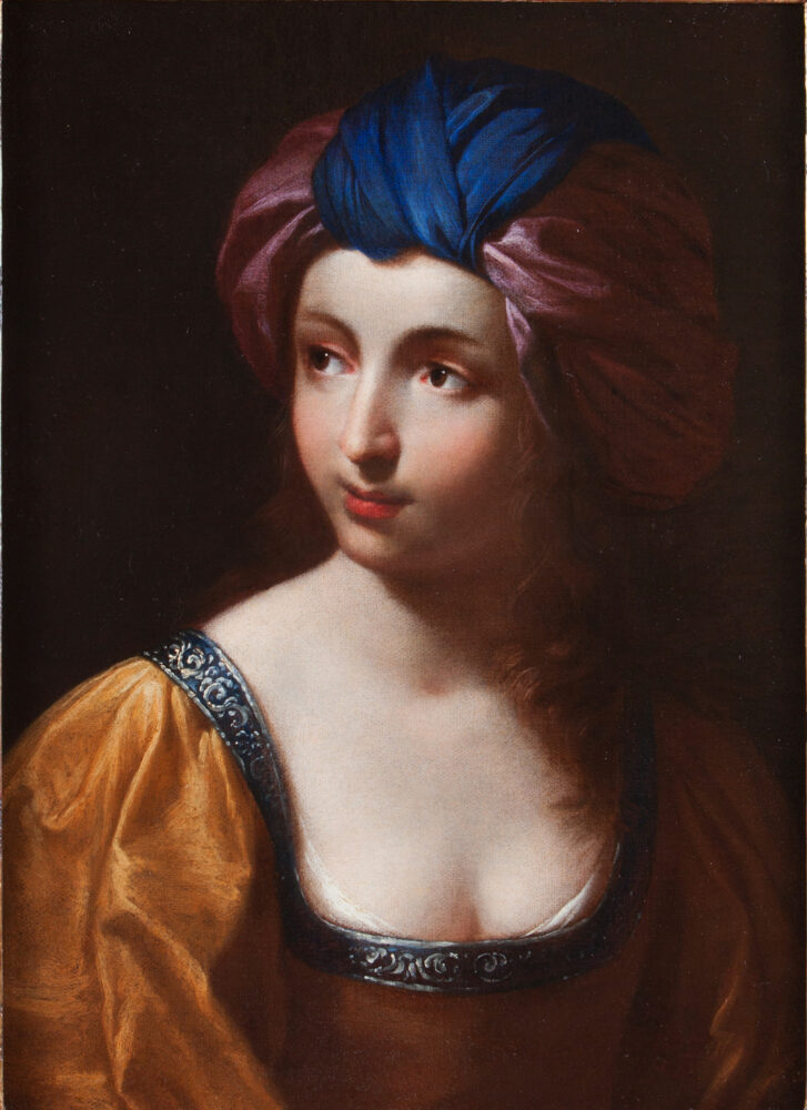 Ginevra Cantofoli Sibilla Olio su tela, 63x46 cm Collezione privata Courtesy Cantore Galleria Antiquaria