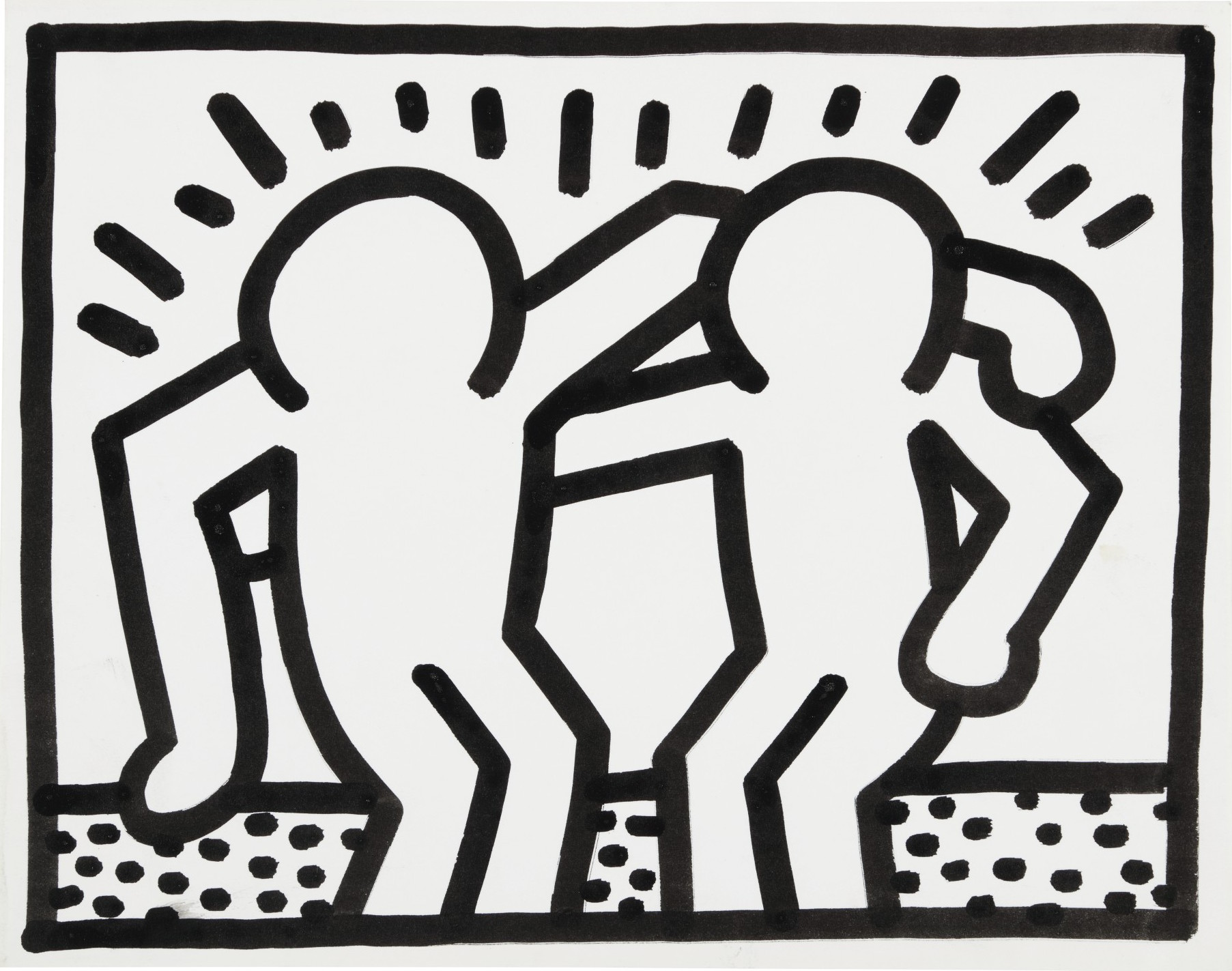 Le aste della settimana e i link ai Cataloghi. Da Keith Haring (Sotheby's) a de Chirico (Colasanti)