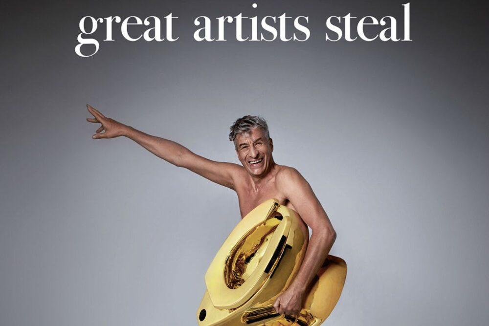 Dalla campagna di lancio di ARTE Generali realizzata da Oliviero Toscani con protagonista Maurizio Cattelan