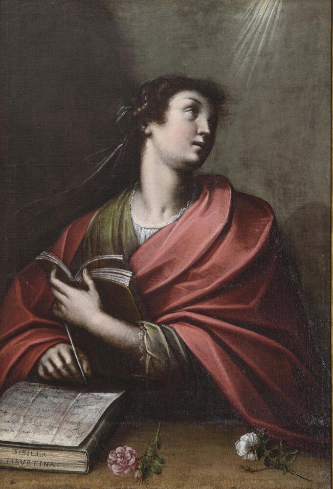 Orsola Maddalena Caccia Sibilla Tiburtina, quinto decennio del XVII sec. Olio su tela, 110x76,5 cm Collezione Fondazione Cassa di risparmio di Asti