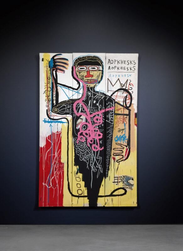 Jean-Michel Basquiat, Versus Medici. SOTHEBY'S